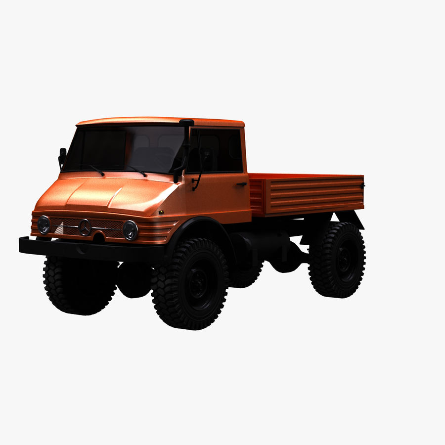 Unimog 406 royalty-free 3d model - Preview no. 1