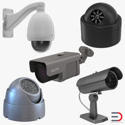 CCTV Cameras Collection 3d model