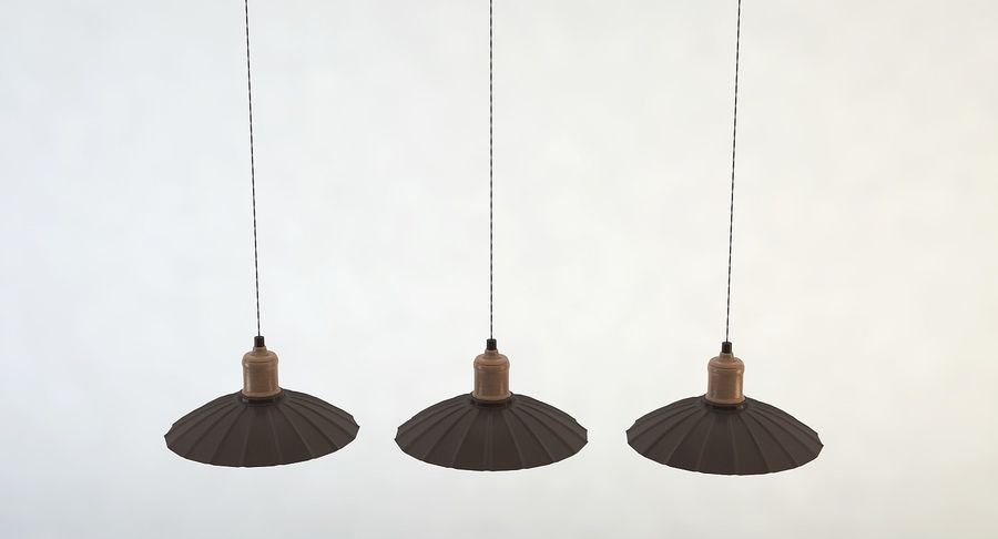 Vintage Lamps Collection royalty-free 3d model - Preview no. 14