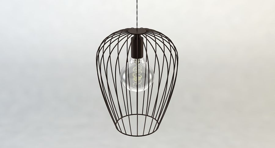 Vintage Lamps Collection royalty-free 3d model - Preview no. 18