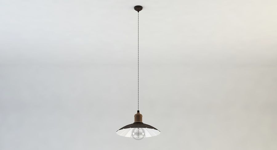 Vintage Lamps Collection royalty-free 3d model - Preview no. 10