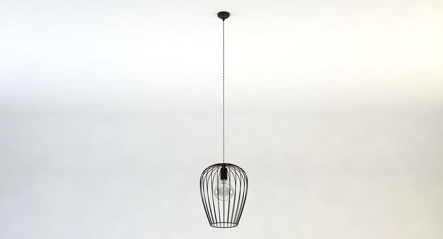 Vintage Lamps Collection royalty-free 3d model - Preview no. 17