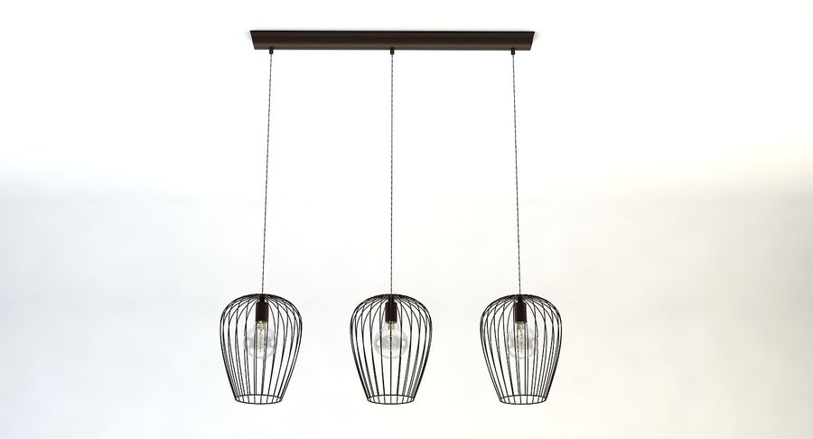 Vintage Lamps Collection royalty-free 3d model - Preview no. 20