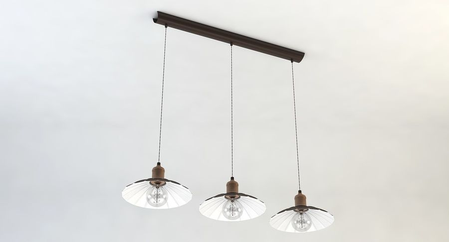Vintage Lamps Collection royalty-free 3d model - Preview no. 13