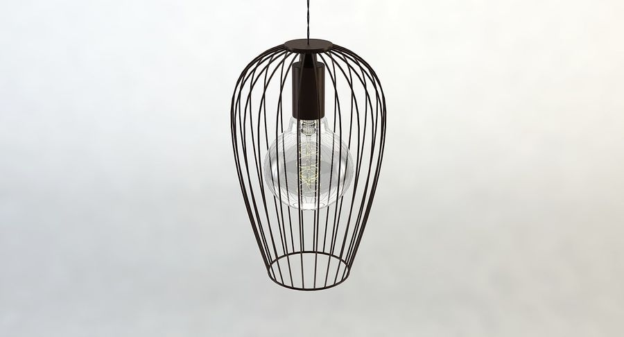 Vintage Lamps Collection royalty-free 3d model - Preview no. 29