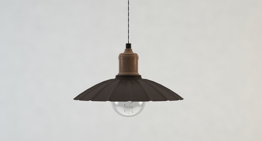 Vintage Lamps Collection royalty-free 3d model - Preview no. 11
