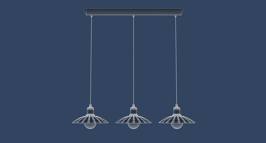 Vintage Lamps Collection royalty-free 3d model - Preview no. 15