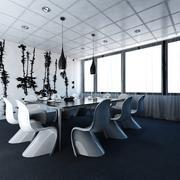 Salle de réunion moderne 3d model