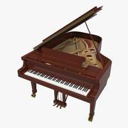 Fortepian 3d model