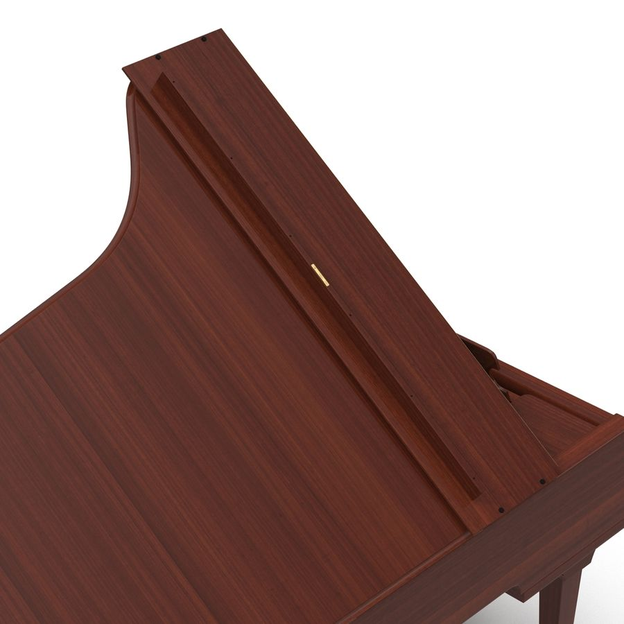 Grand Piano royalty-free 3d model - Preview no. 28