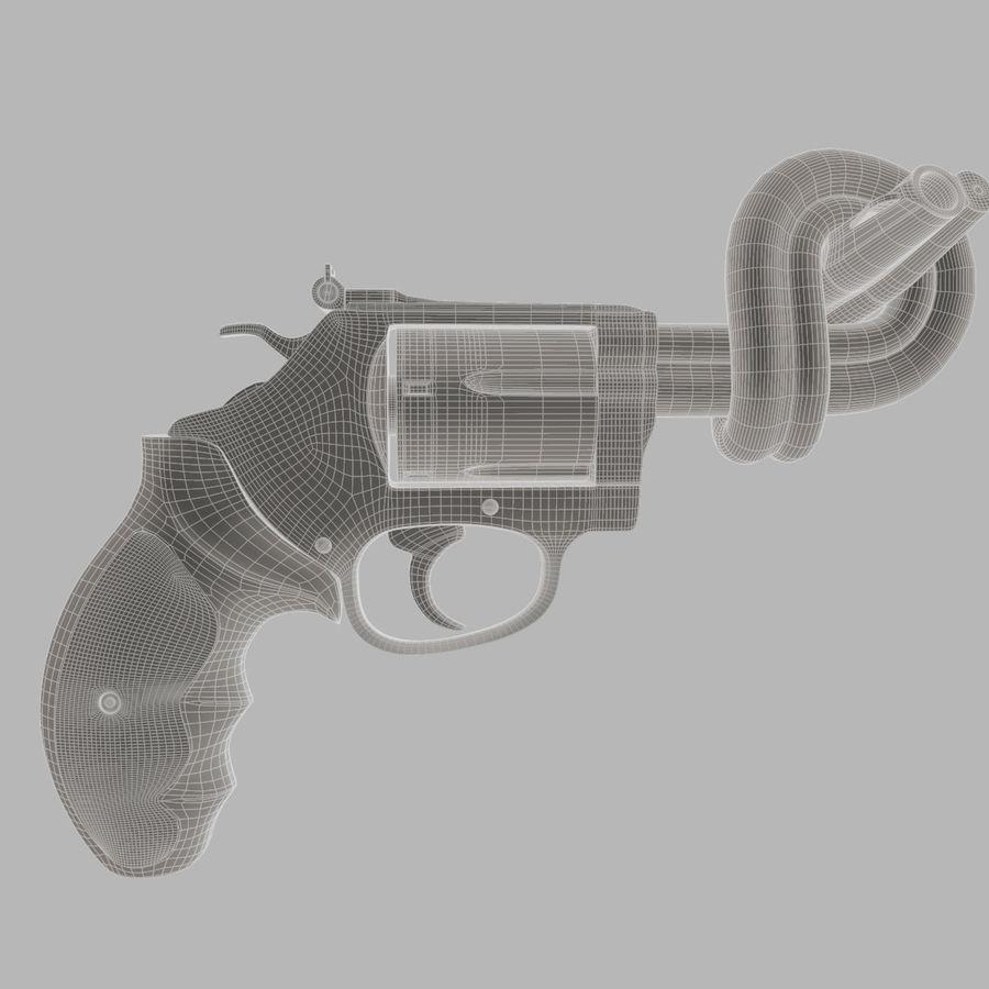 玛格南357号机枪 royalty-free 3d model - Preview no. 12
