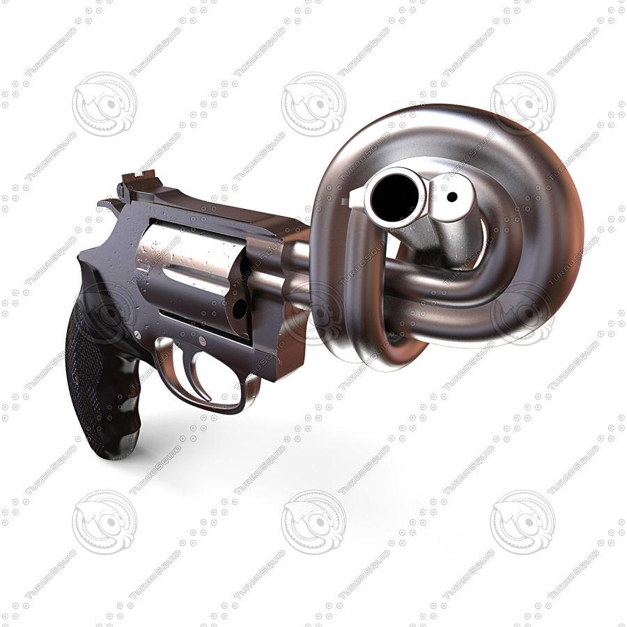 玛格南357号机枪 royalty-free 3d model - Preview no. 6