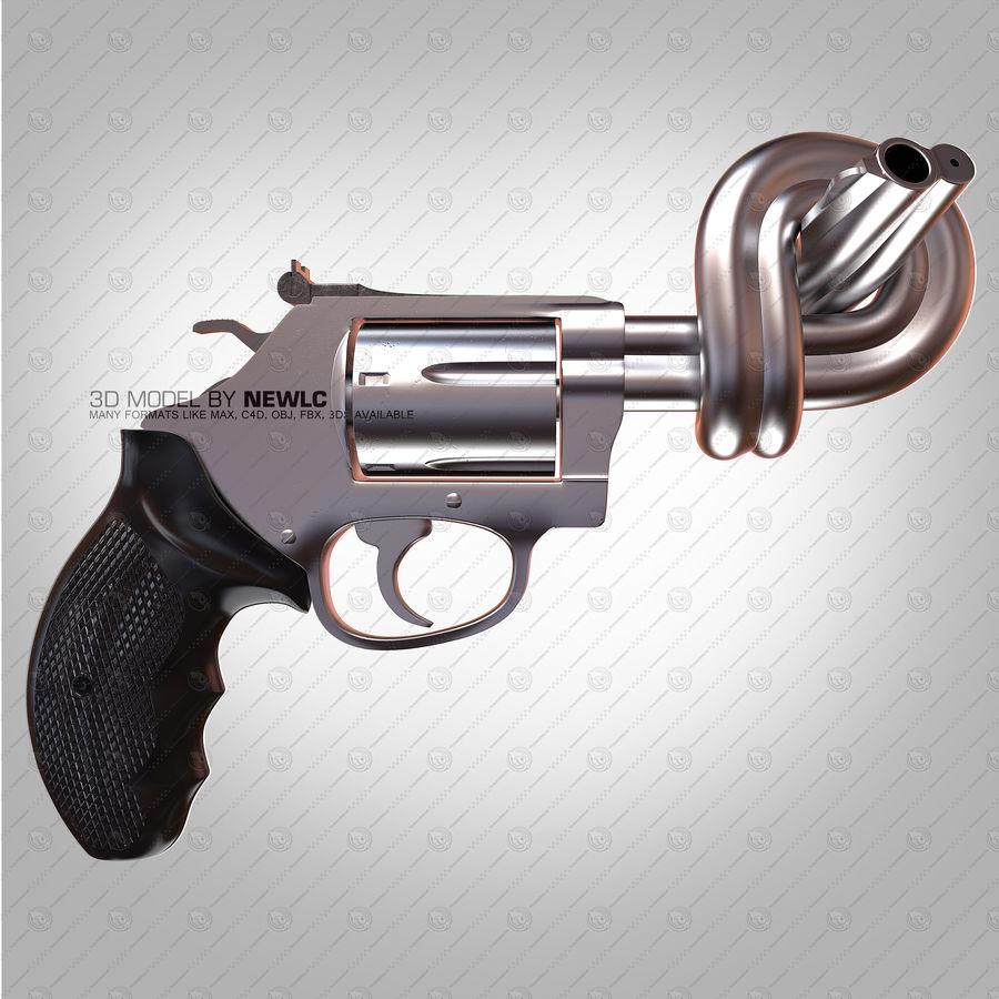 玛格南357号机枪 royalty-free 3d model - Preview no. 2