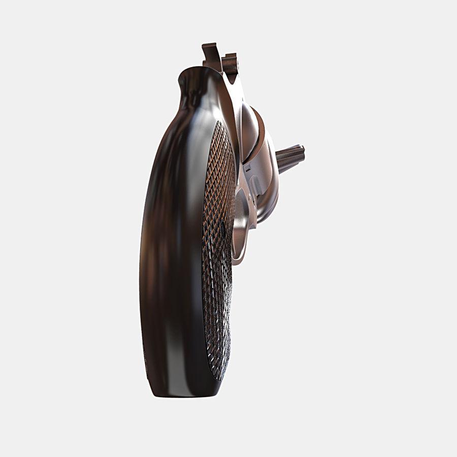 玛格南357号机枪 royalty-free 3d model - Preview no. 8