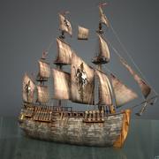 Ship02 3d model