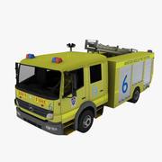 メルセデスアテゴ消防車 3d model