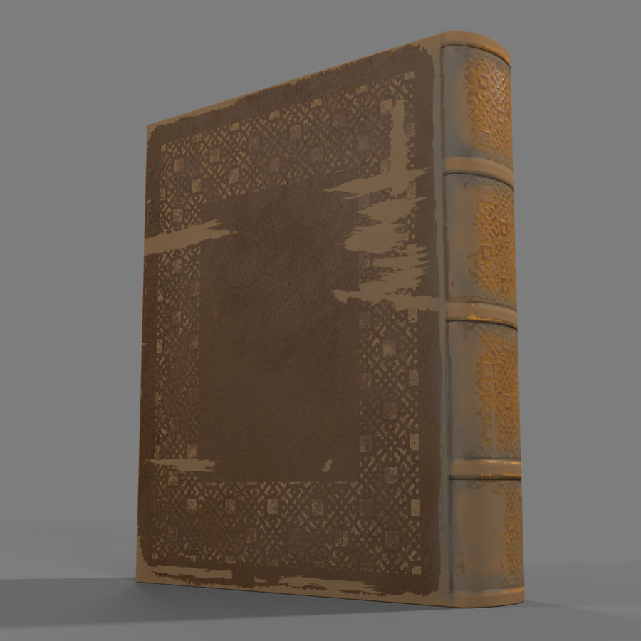 Arabian Books royalty-free 3d model - Preview no. 15