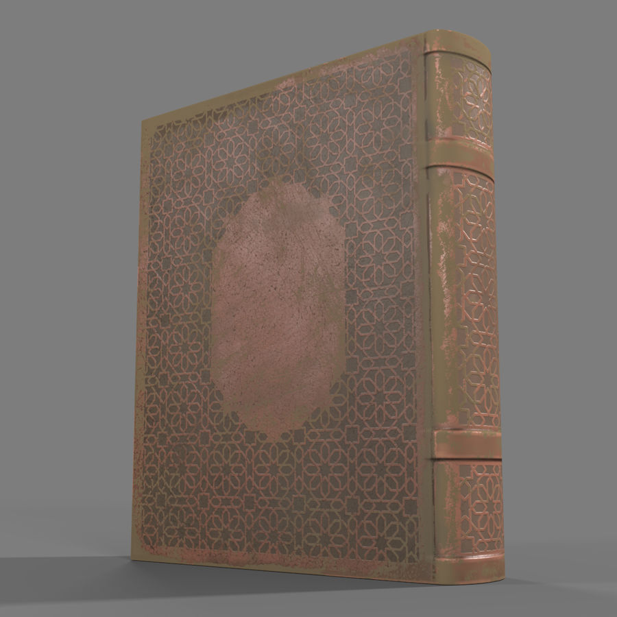 Arabian Books royalty-free 3d model - Preview no. 18