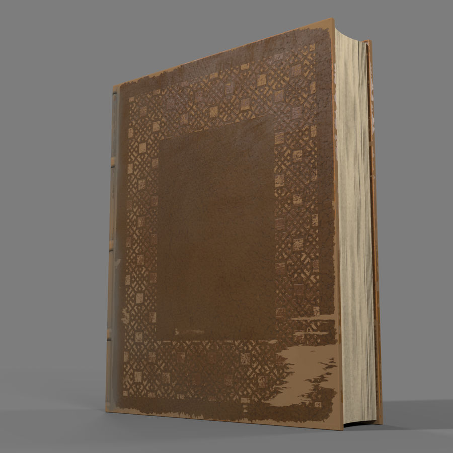 Arabian Books royalty-free 3d model - Preview no. 14