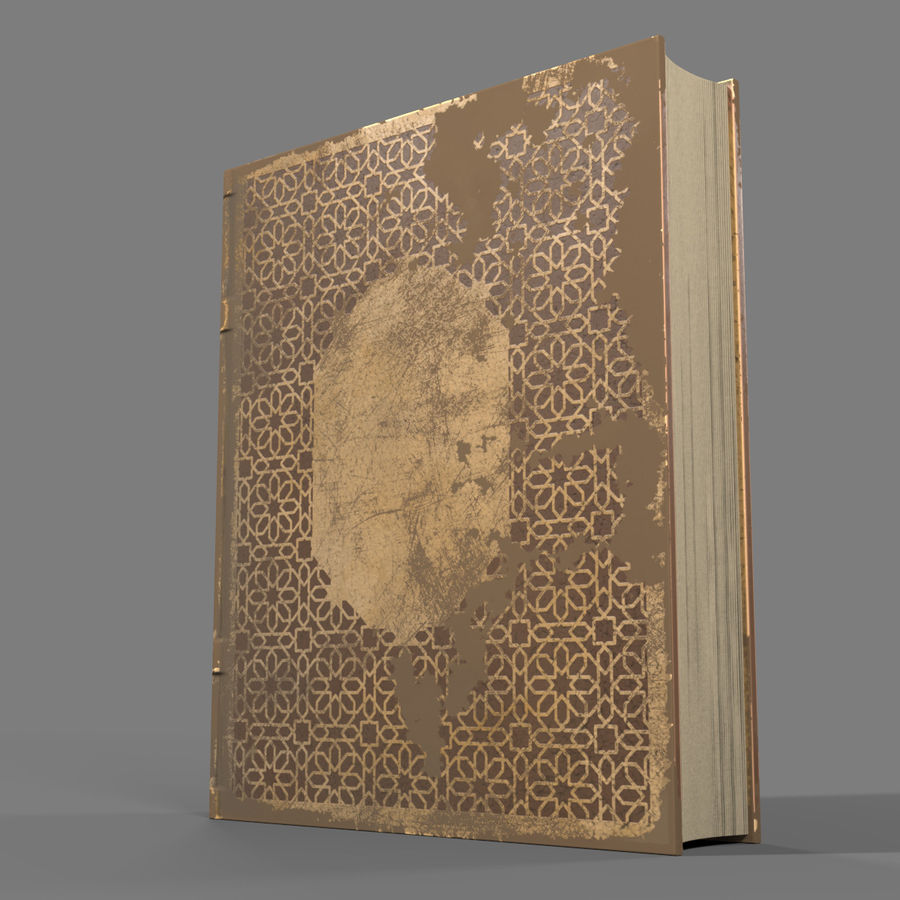 Arabian Books royalty-free 3d model - Preview no. 12