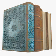 Arabian Books 3d model