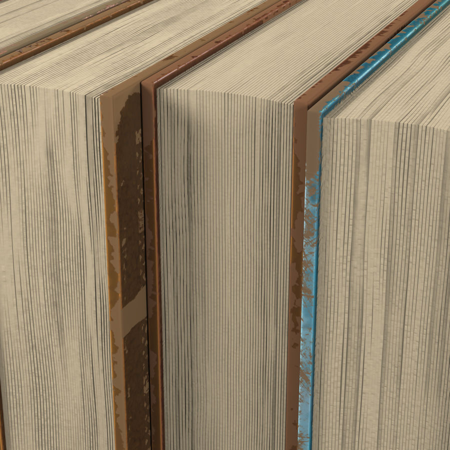 Arabian Books royalty-free 3d model - Preview no. 6