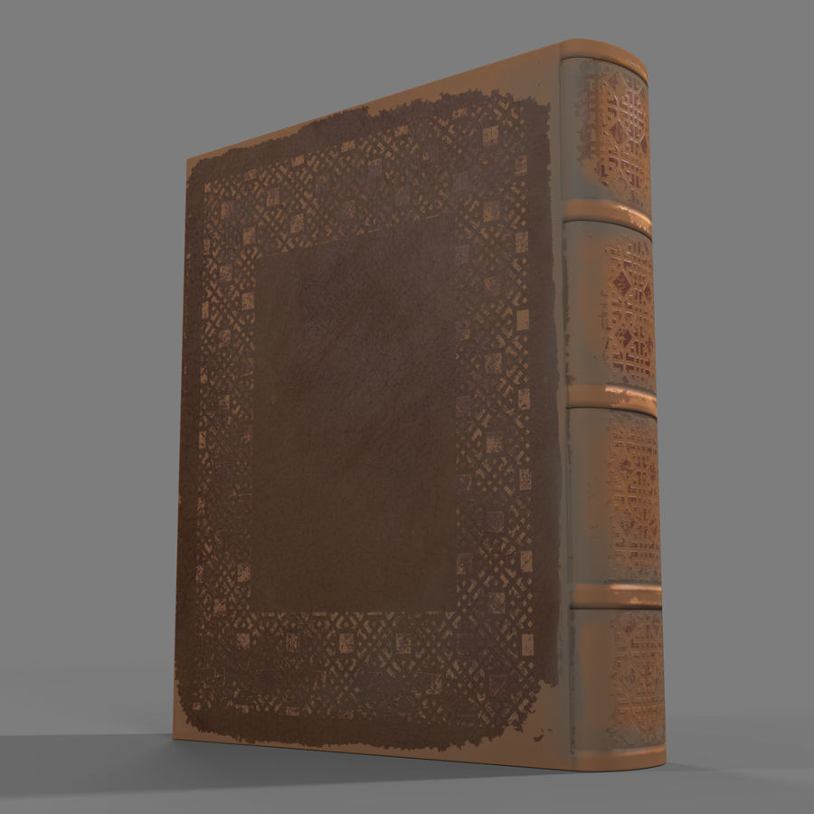 Arabian Books royalty-free 3d model - Preview no. 16