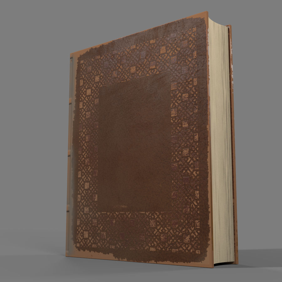 Arabian Books royalty-free 3d model - Preview no. 13