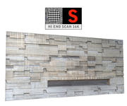Bunker concrete facade 16K 3d model