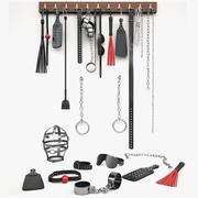 BDSM Accessories 3d model