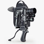 老式胶卷相机Paillard Bolex 16mm 3d model