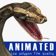 蟒蛇 3d model