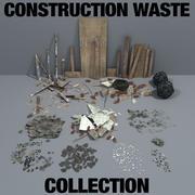 건축 폐기물 수집 3d model