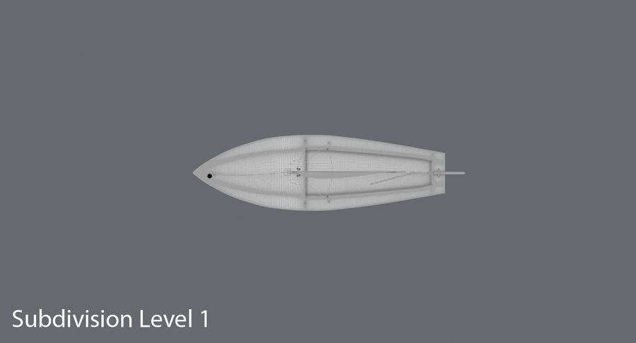 Sailboat royalty-free 3d model - Preview no. 18