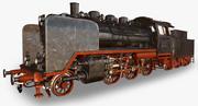 Locomotive à vapeur DRG Class24 3d model