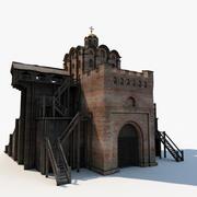 Fortress Golden Gate 3d model