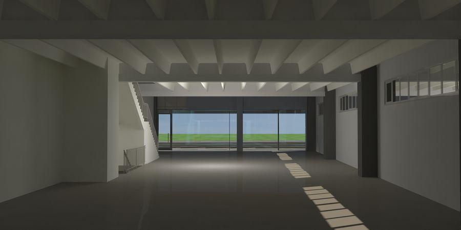 オートショールームセンター royalty-free 3d model - Preview no. 28
