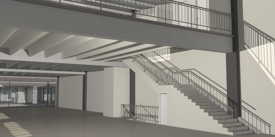 オートショールームセンター royalty-free 3d model - Preview no. 23