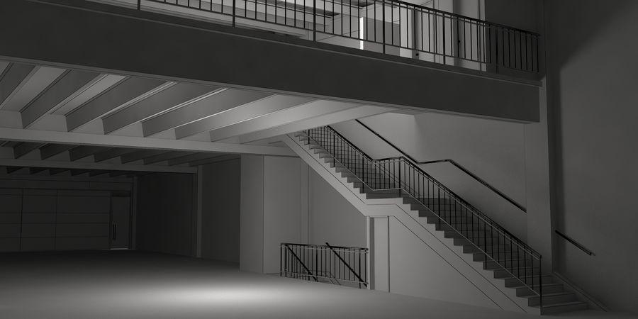 オートショールームセンター royalty-free 3d model - Preview no. 40