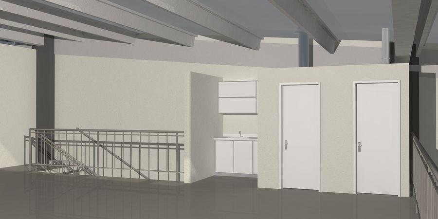 オートショールームセンター royalty-free 3d model - Preview no. 25