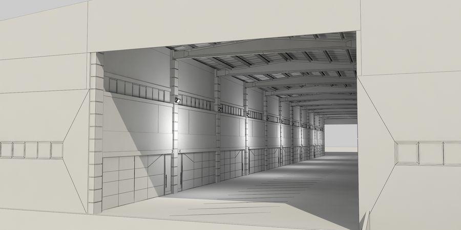 オートショールームセンター royalty-free 3d model - Preview no. 38
