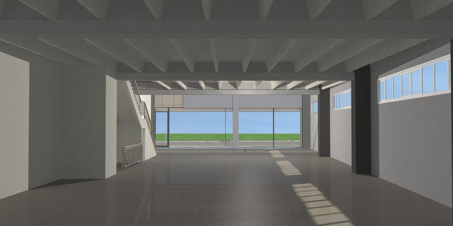 オートショールームセンター royalty-free 3d model - Preview no. 27