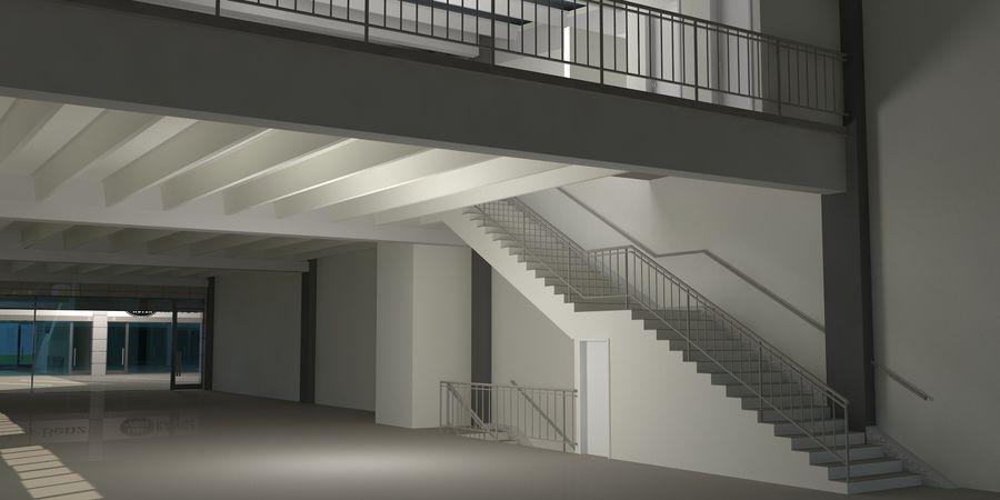 オートショールームセンター royalty-free 3d model - Preview no. 24