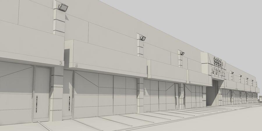 オートショールームセンター royalty-free 3d model - Preview no. 36