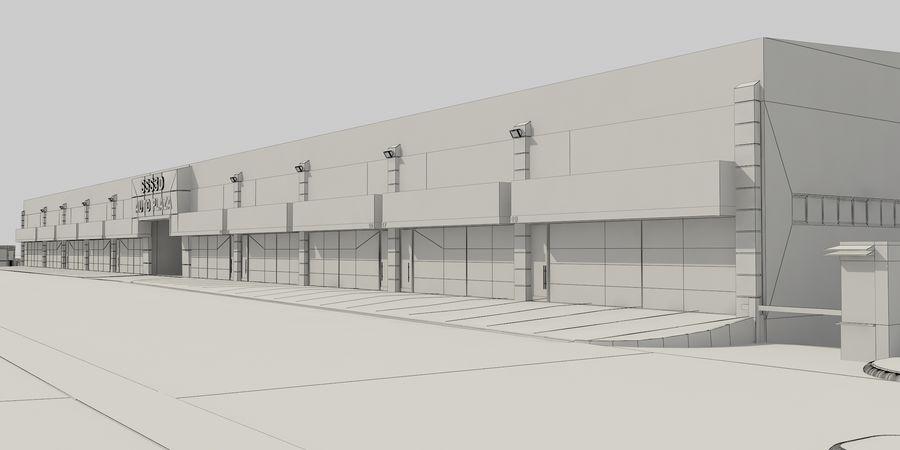 オートショールームセンター royalty-free 3d model - Preview no. 33