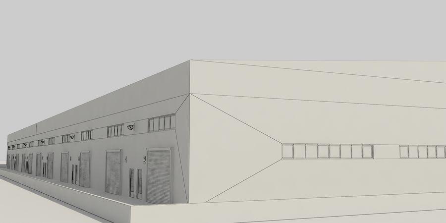 オートショールームセンター royalty-free 3d model - Preview no. 42