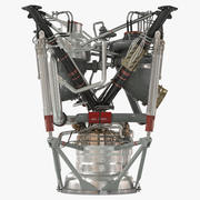 Motore a razzo 2 3d model
