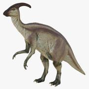Parasaurolophus Pose 4 3D Model 3d model