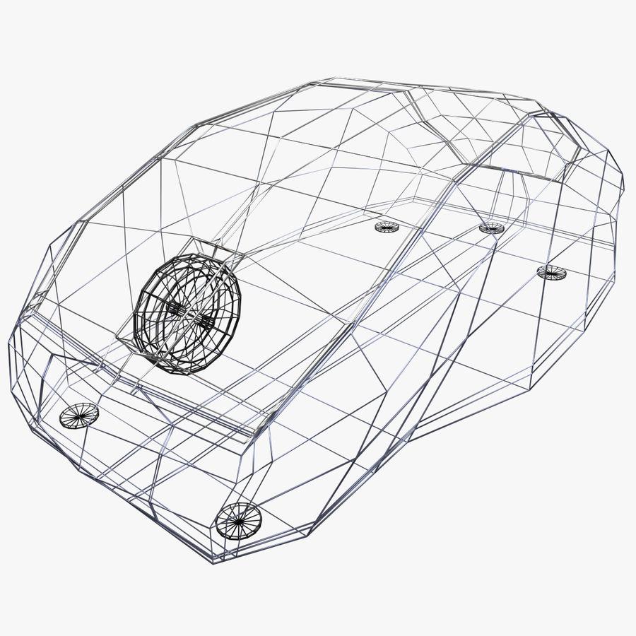 コンピューターのマウス royalty-free 3d model - Preview no. 2