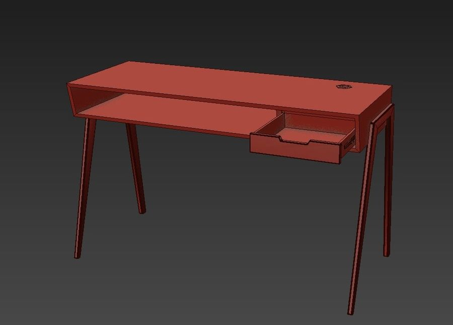Desk Collection royalty-free 3d model - Preview no. 16